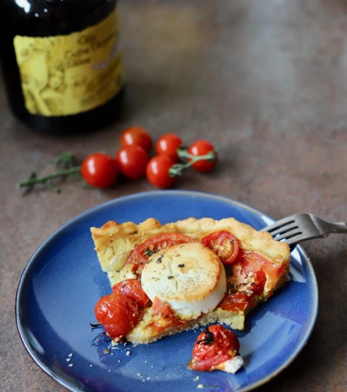 Französische Tomaten Ziegenkaese Tarte