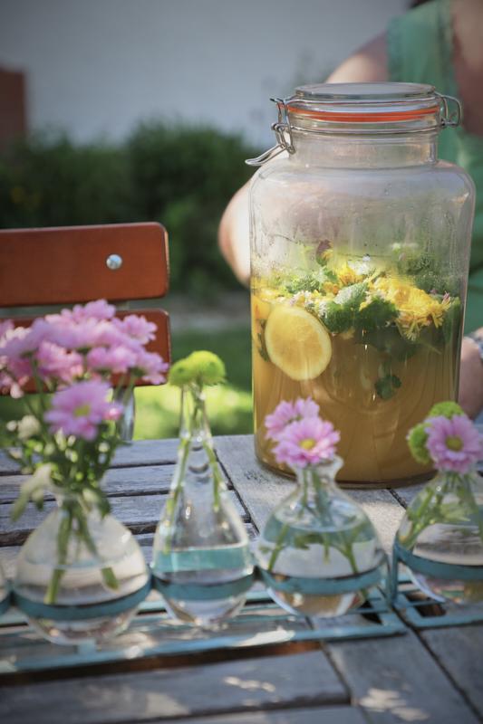 Limonade im Brombeerhaus