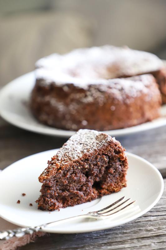 Schokoladenkuchen aus Italien